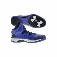 New Men's Under Armour Micro G Basketball Shoes Royal Blue and Black Size 13