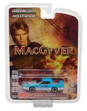 "Greenlight Hollywood Series: 1987 Pontiac Firebird ""MacGyver"" 1/64 Scale"