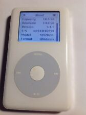 *Apple iPod 20 Gb New Battery* 4th Generation M9282Ll/A White