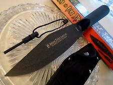Amazon Jungle Survivor Combat Bowie Spear Knife w Fire Starter 1045 HC 12 1/2""