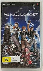 VALHALLA KNIGHTS Sony PSP Playstation with booklet