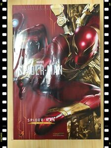 🔥 Hot Toys VGM 38 Marvel's Spider-Man (Iron Spider Armor Suit Version) NEW
