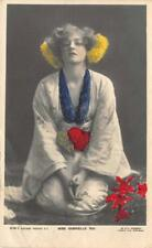 MISS GABRIELLE RAY Stage Actress 1905 Hand-Colored RPPC Vintage Postcard