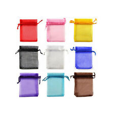 HOT 20Pcs Organza Gift Bags Small Mesh Pouches Wedding Party Candy Package