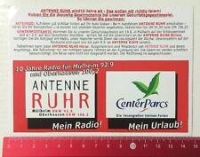 Decal/Sticker: Antenna Ruhr My Radio Center Parcs MY VACATION (20051615)