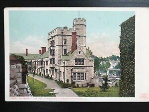 Vintage Postcard>1903>Stafford Little Hall>Princeton University>Princeton>N.J.