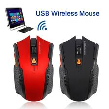 UK Wireless Cordless 2.4GHz Mouse USB Dongle Optical Scroll For PC Laptop Games