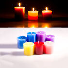 Smokeless Scented Aromatherapy Coloured Votive Candles Choose Fragrance
