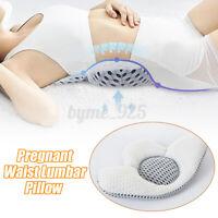 Pregnant Waist Lumbar  Sleeping Support Maternity Cushion Bed Spine  G
