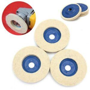 3 Piece Polierset Polishing Discs 100mm Polishing Paste Aluminum Rims 100mm/4