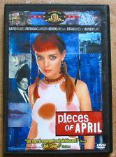 Dvd-pieces of april katie holmes patricia clarkson// derek luke