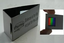World's più semplice reticolo di diffrazione SPETTROSCOPIO KIT