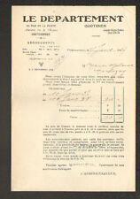 """CHATEAUROUX (36) JOURNAL """"LE DEPARTEMENT"""" en 1937"""