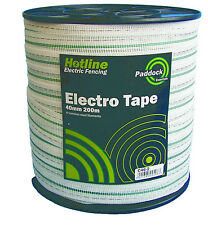 Electric Fencing Tape-  PREMIUM TAPE 40mm x 200m
