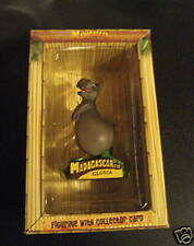 MADAGASCAR FIGURE FIGURINE W/COLLECTOR CARD GLORIA