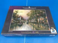 PUZZLE 1000 PIECE THOMAS KINKADE INSPIRED HOME ART.58441 SCHMIDT 69 X 49 CM NEUF