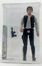 Kenner Star Wars Han Solo Small Head Molded Legs HK AFA 85 loose NEW CASE STYLE