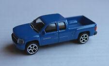Majorette Chevy Chevrolet Silverado Pickup Truck blau Auto GM blue bleu blu azul