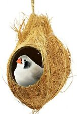 872 Coconut Hut Bonka Bird Toys Parrot Toy Part craft parrot cage cages natural
