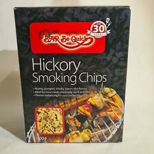 Bar-be-quick hickory smoking chips 400g flavour enhance your bbq grill or smoker