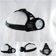 28 LED Kopflampe Kopfleuchte Stirnlampe schwenkbar Fahrrad Lampe Camping Garten