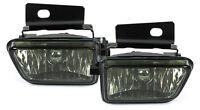 CRYSTAL SMOKED FOG LIGHTS FOR VW GOLF MK2 II MK 2 + JETTA 2 GL GTI NSW H3 89-92