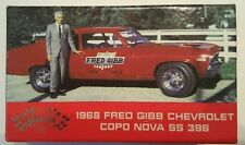 1968 Fred Gibb Chevy COPO Nova SS 396 Limited Edition Laharpe, Il  #8426