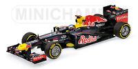 MINICHAMPS 110 100205 110 120001 RED BULL F1 model cars S Vettel 2010 /2012 1:18