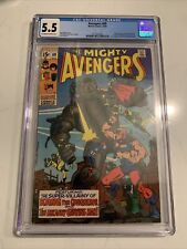MIGHTY AVENGERS #69 CGC 5.5 1ST App Grandmaster Squadron Sinister Kyle Richmond