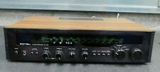 ROTEL RX-402 Vintage Stereo Receiver Amplifier Amp Woodgrain - Spares / Repairs