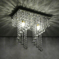 Modern Crystal Chandelier 4 Ceiling Light Lamp Pendant Fixture Lights Decoration