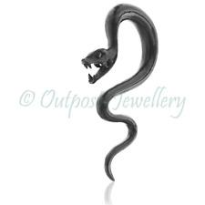Snake Ear Spiral Hanger Gauge Plug Carved Horn Serpent Dragon For Stretched Lobe