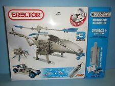 Erector Motorized Helicopter Set *New*