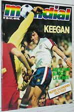 MONDIAL N°26 1979 FOOTBALL BUNDESLIGA BIANCHI KROL NEESKENS MILAN KEEGAN GUINEE