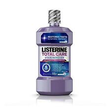 Listerine Total Care Stain Remover Anticavity Mouthwash, Mint - 16 Oz