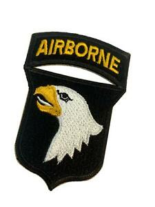 """Reproduction WW2 US Insignia, 101st Airborne Division, """"White Tongue"""" Variation"""