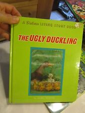 1968 The Ugly Duckling by Tadasu Izawa Deluxe Living Story book - LUD