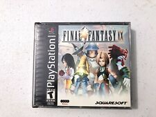 Final Fantasy IX 9 PlayStation 1 PS1 Game Complete in Case