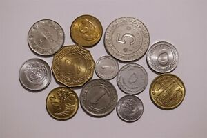 ALGERIA OLD CURRENCY LOT MOSTLY HIGH GRADE B34 T5