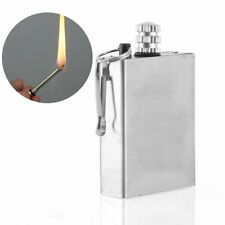 Portable Survival Instant Fire Starter Flint Match Metal Lighter Hiking Tool Kit