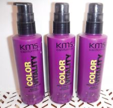3 KMS COLOR VITALITY Shine and Shield 5.1 oz Each (309)