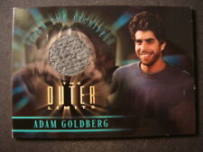 Adam Goldberg costume card Outer Limits Sex, Cyborgs, And Science Fiction Cc7