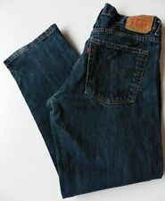 Boys' Men's Levis 505 Straight Leg Jeans W32 L27 Blue Levi Strauss Size 32S