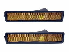 2 Front For BMW E30 E32 E34 318i 318is 325es Side Marker Light Lens 63141377849