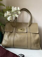 MULBERRY Bayswater Deer Brown Leather Handbag- Dustbag