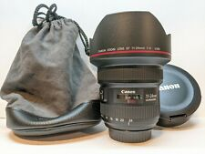 Canon EF 11-24mm f/4L USM Wide Angle Zoom Lens - EXCELLENT CONDITION !!!
