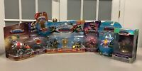 Lot of 7 Skylanders - Superchargers, Eon's Elite Voodood & Earth Trap