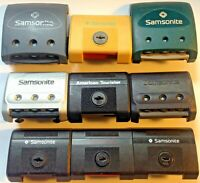 SAMSONITE replacement COMBINATION lock OYSTER epsilon SUITCASE spare USED parts