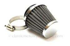 Conical Air Filter 42mm Inlet, Amal 376 Monobloc, 600 Concentric
