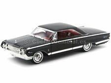 Road Signature 92568bk 1964 Mercury Marauder Black 118 Diecast Model Car